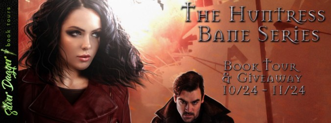 the huntress bane series banner